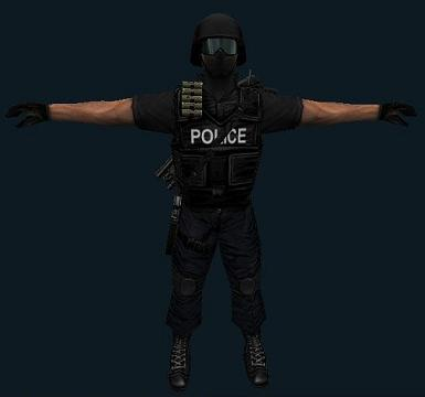 Black Themed S.W.A.T
